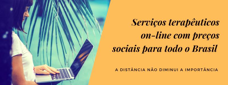 Psicoterapia e serviços terapêuticos on-line sociais